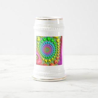 Special Fractal 18 Oz Beer Stein