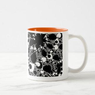 Special Fractal Two-Tone Coffee Mug