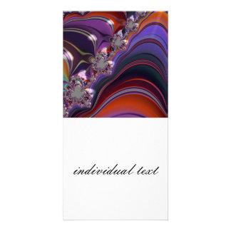 special fractal revolution photo card