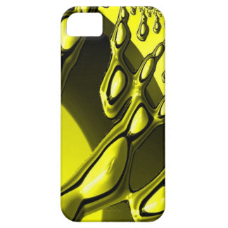 special fractal, yellow iPhone 5 case