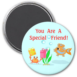 Special Friend Beach Buddies Magnet
