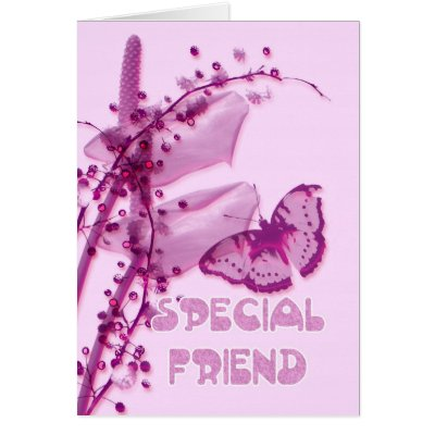 special friend birthday cute mouse greeting card  zazzle, Birthday card