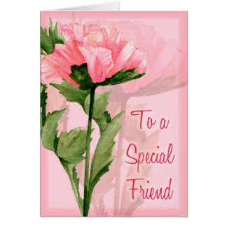 Special Friend Card