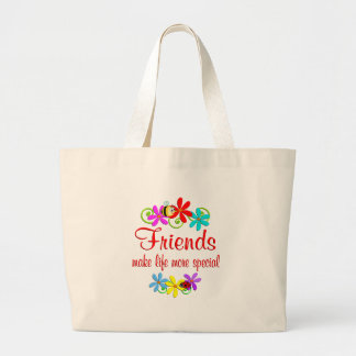 Special Friend Large Tote Bag