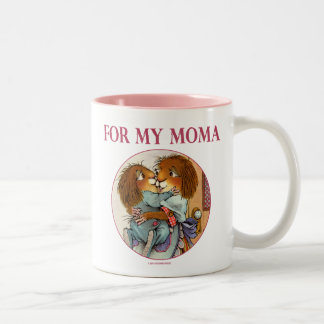 Special Gift For Moma Two-Tone Coffee Mug