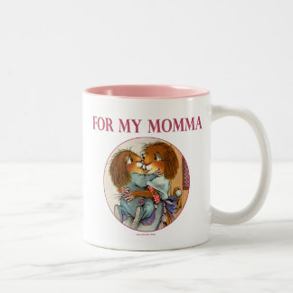 Special Gift For Momma Two-Tone Coffee Mug