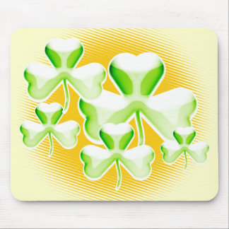 Special gift: Glossy shamrock - mousepad