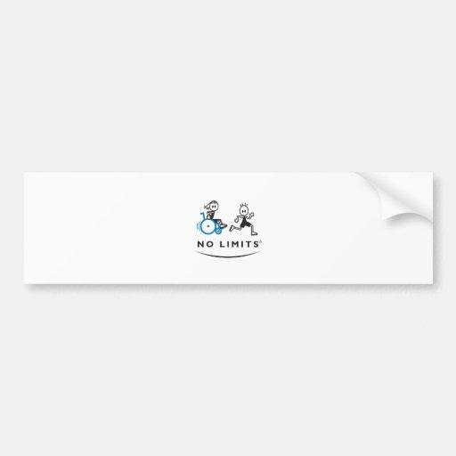 Special Girl with Runner Car Bumper Sticker