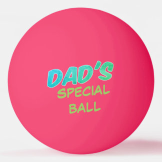 Special Glow in the Dark Ping Pong Ball for Dads