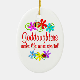 Special Goddaughter Christmas Ornaments