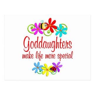 Special Goddaughter Postcard