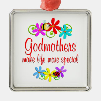 Special Godmother Christmas Tree Ornaments