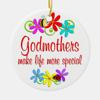 Special Godmother Ornaments