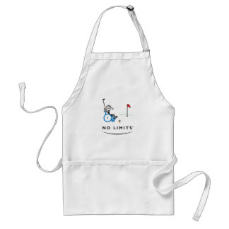 Special Golf Girl Adult Apron