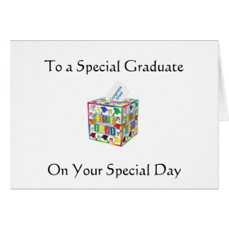 SPECIAL GRAD-SPECIAL DAY GREETING CARD