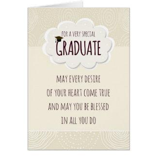 Special Graduate Graduation Congratulations Greeting Card