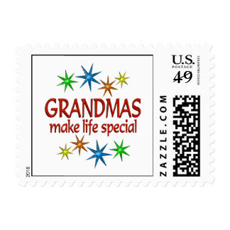 Special Grandma Postage Stamp