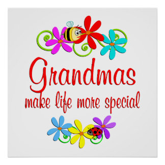 Special Grandma Poster