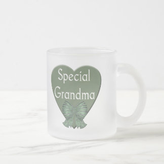 Special Grandma T-shirts and Gifts Frosted Glass Coffee Mug