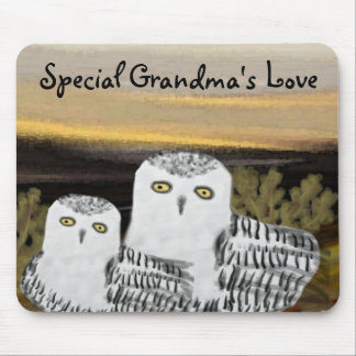Special Grandma's Love Mouse Pad