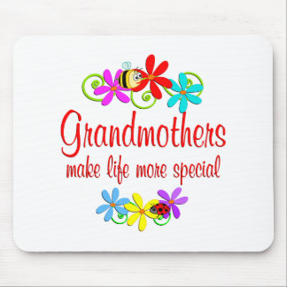 Special Grandmother Mouse Pads