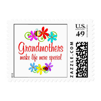 Special Grandmother Postage Stamp