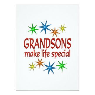 Special Grandson Invitation