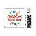Special Grandson Postage Stamp