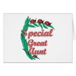 Special Great Aunt Mother's Day Gift Card