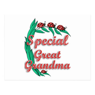 Special Great Grandma Mother's Day Gift Postcard