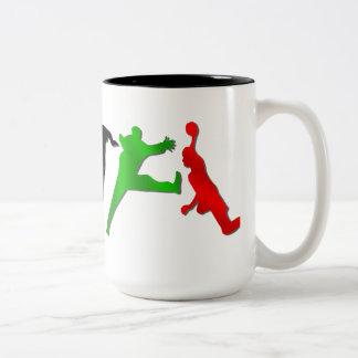 Special handball players handball mug