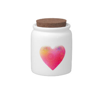 Special Heart Candy Jar