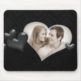 Special Hearts Photo Template - Mousepad