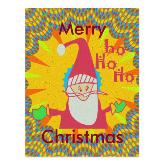 ¡Special Hohoho de Santa! Pintura al óleo de Postales