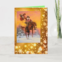 Special Horse Lover Christmas Card