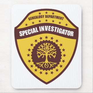 Special Investigator Mouse Pad