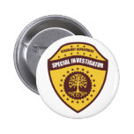 Special Investigator Pinback Buttons
