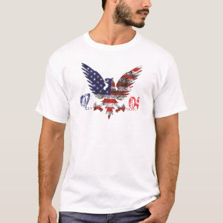Special July 4th design t-shirt for men.
