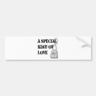 Special kind of love bumper sticker