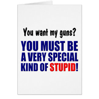 Special Kind of Stupid! Card
