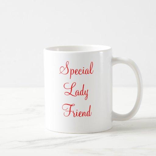 Special Lady Friend Classic White Coffee Mug