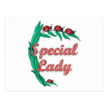 Special Lady Mother's Day Gift Postcard