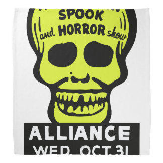 Special Late Spook and Horror Show Bandana
