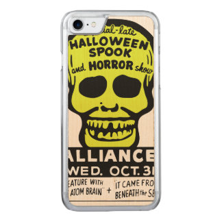 Special Late Spook and Horror Show Carved iPhone 8/7 Case
