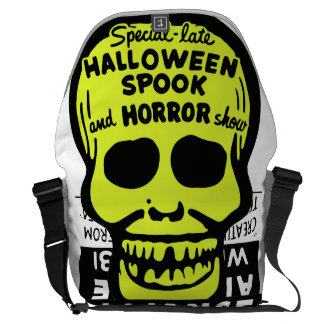 Special Late Spook and Horror Show Courier Bag