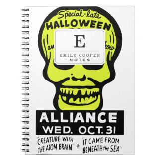Special Late Spook and Horror Show Notebooks