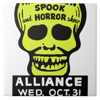 Special Late Spook and Horror Show Tile