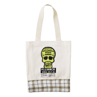 Special Late Spook and Horror Show Zazzle HEART Tote Bag
