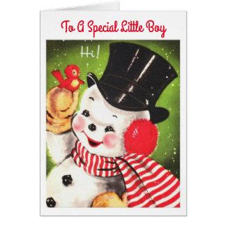 Special Little Boy Card