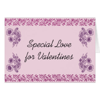 Special Love for Valentines Card